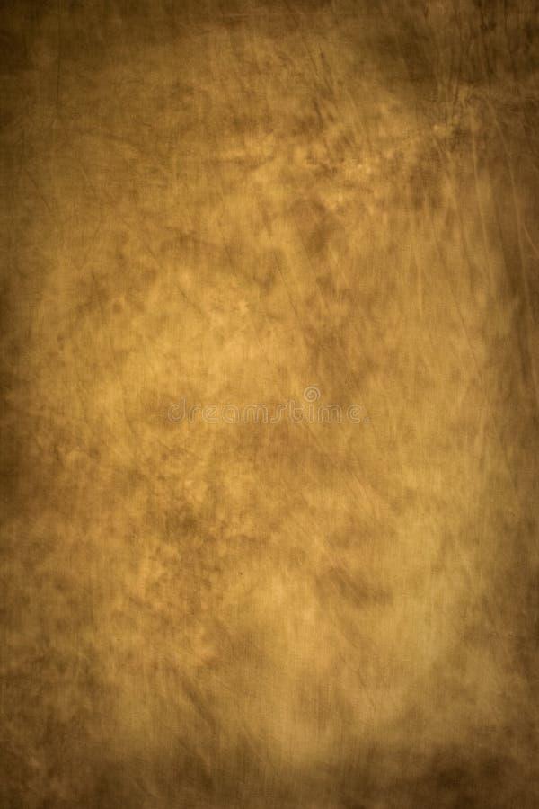 Vecchio contesto grungy marrone astratto della tela di canapa fotografie stock libere da diritti