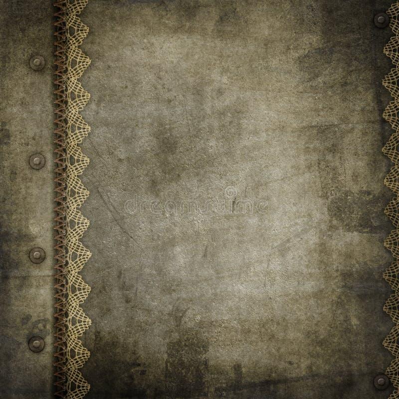 Vecchio coperchio dell'album dell'annata illustrazione vettoriale