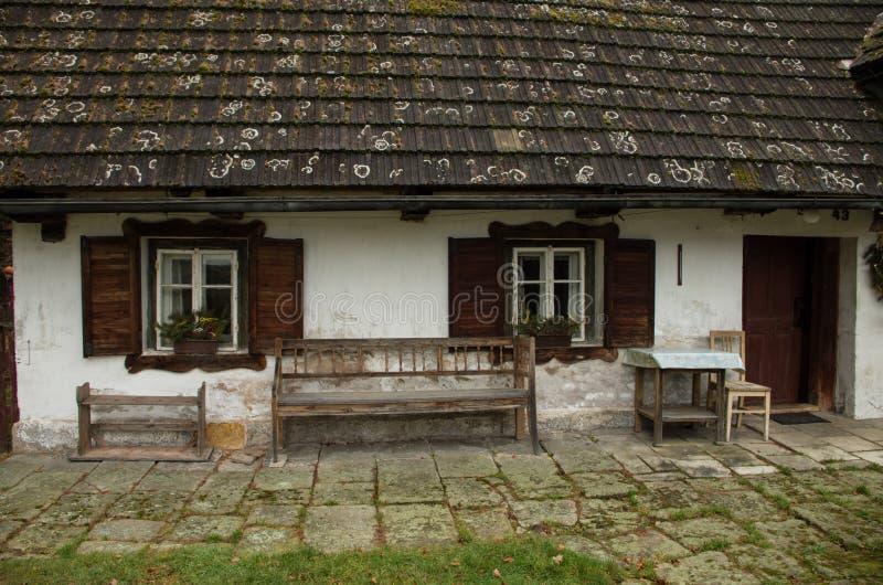 Vecchio cottage fotografie stock