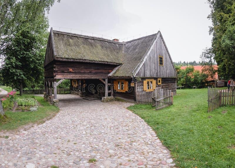 Vecchio cottage di legno immagine stock libera da diritti