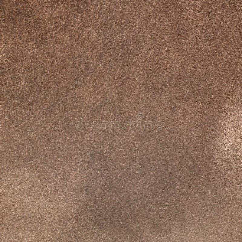 Vecchio cuoio marrone invecchiato illustrazione di stock