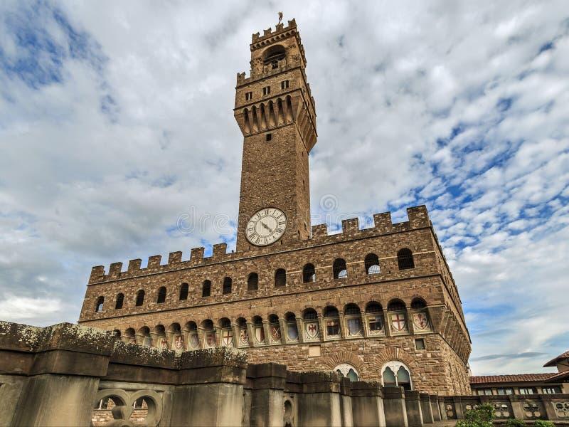 Vecchio de Palazzo em Floren?a fotografia de stock