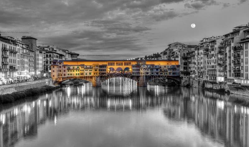Vecchio de Ponte, Florença, Firenze, Italia foto de stock royalty free
