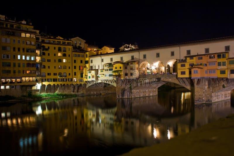 Vecchio de Ponte, Florencia imágenes de archivo libres de regalías