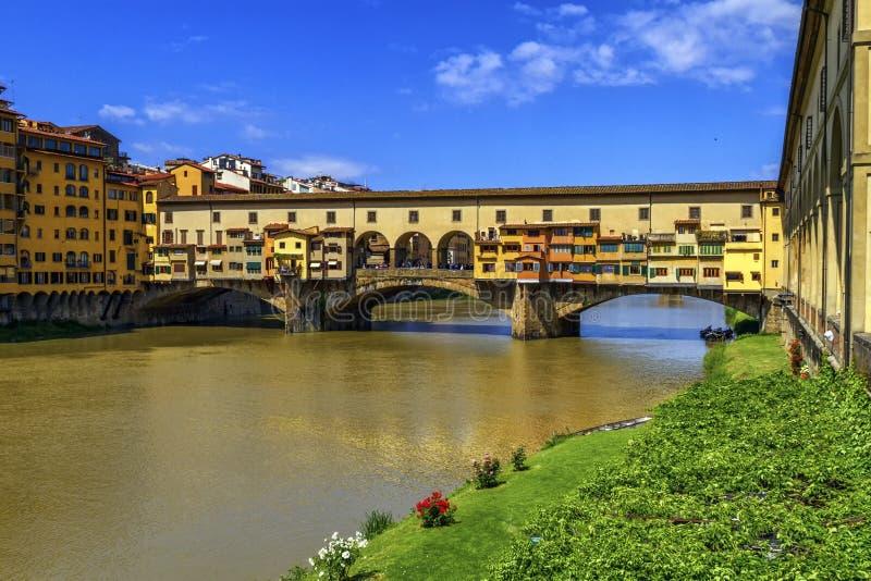 Vecchio de Ponte, Florencia, Firenze, Italia fotos de archivo libres de regalías