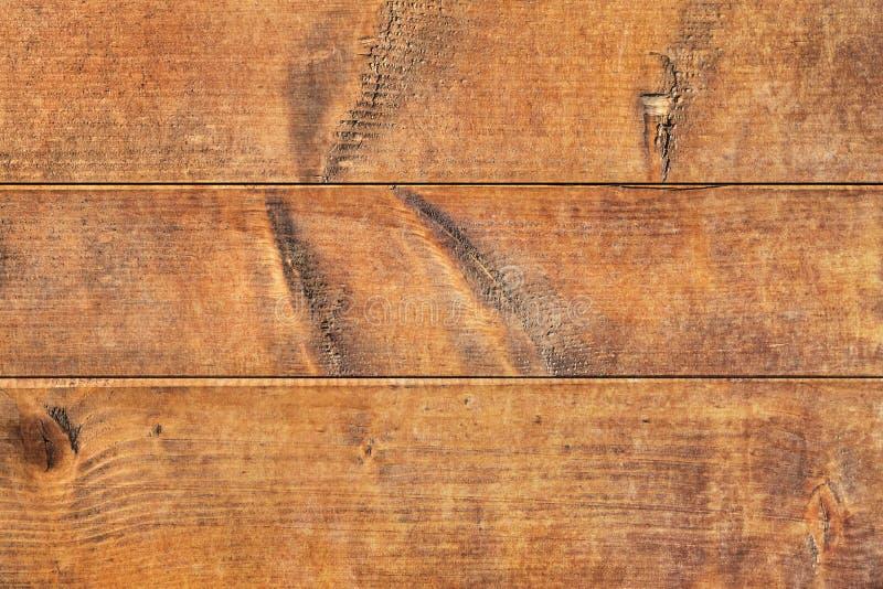 Vecchio dettaglio annodato incrinato marcio stagionato di struttura delle plance di Pinewood fotografie stock libere da diritti