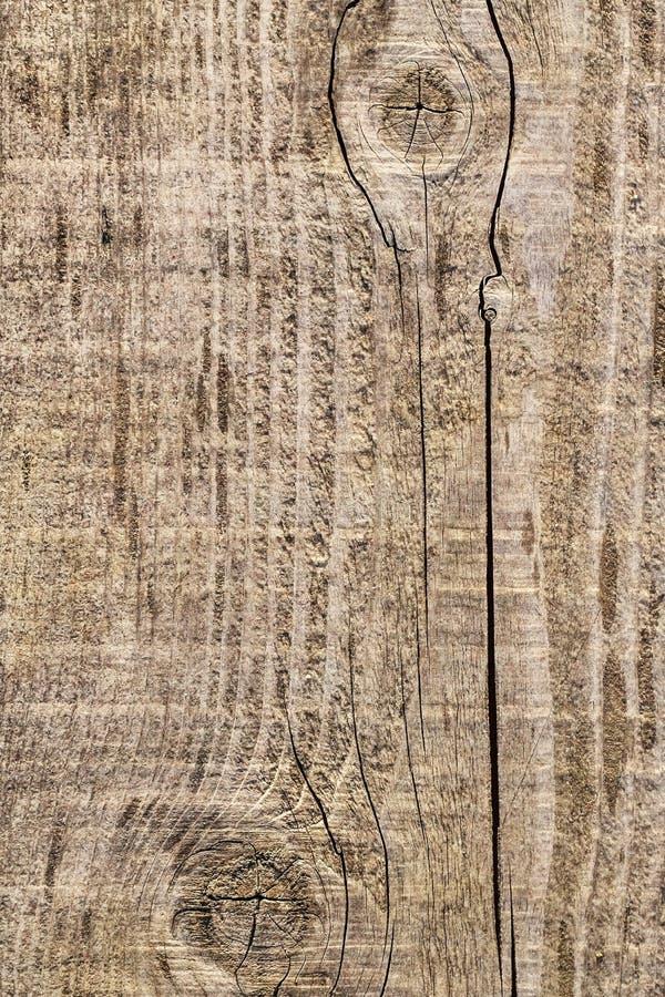 Vecchio dettaglio annodato incrinato stagionato di struttura di lerciume della tavola di pavimento di legno di pino fotografie stock libere da diritti