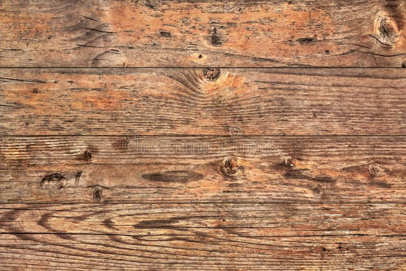 Vecchio dettaglio approssimativo annodato incrinato marcio stagionato di struttura di lerciume delle plance di Pinewood fotografie stock libere da diritti