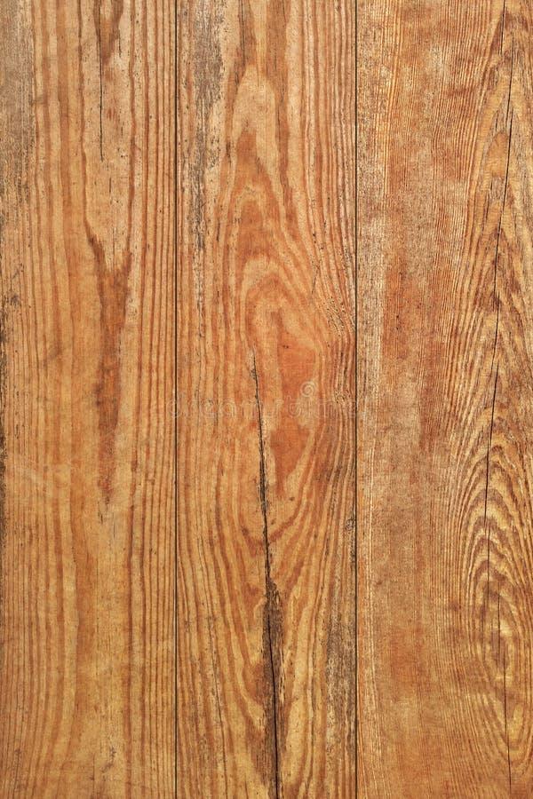 Vecchio dettaglio a fiocchi verniciato annodato incrinato marcio stagionato di struttura di lerciume delle plance di Pinewood fotografie stock libere da diritti