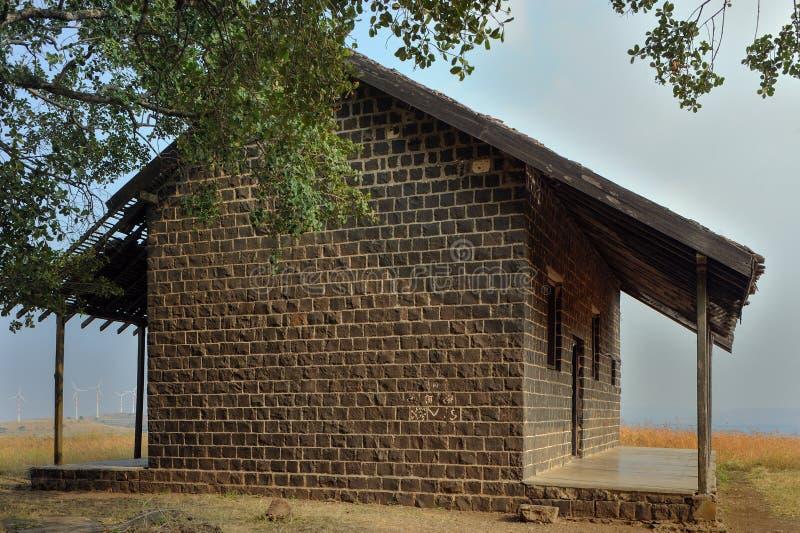 VECCHIO di casa alla cupola o al knon di Salabat Khan come Ka Mahal Ahmednagar di Chandbibi fotografia stock libera da diritti