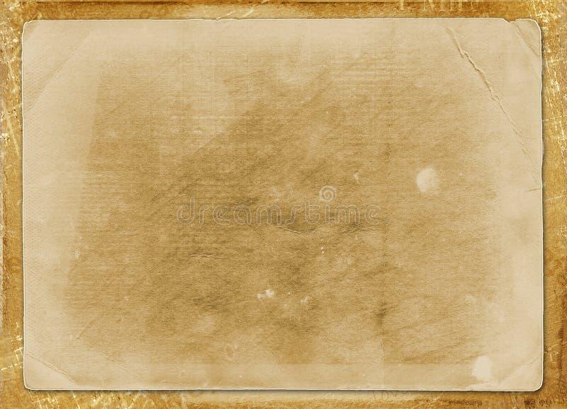 Vecchio disegno dei documenti di Grunge illustrazione vettoriale