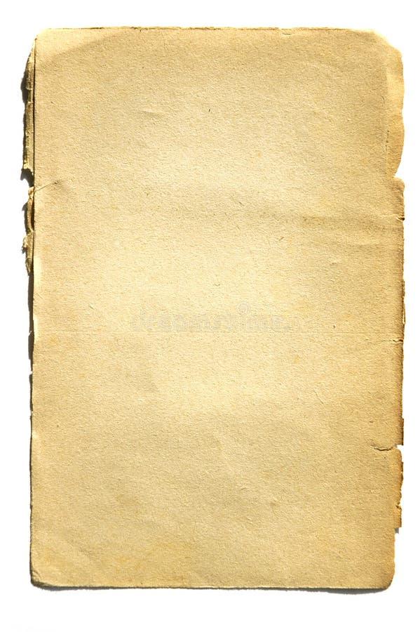 Vecchio documento 01 fotografie stock libere da diritti