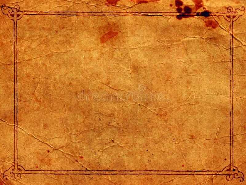 Download Vecchio documento immagine stock. Immagine di pergamena - 3892381