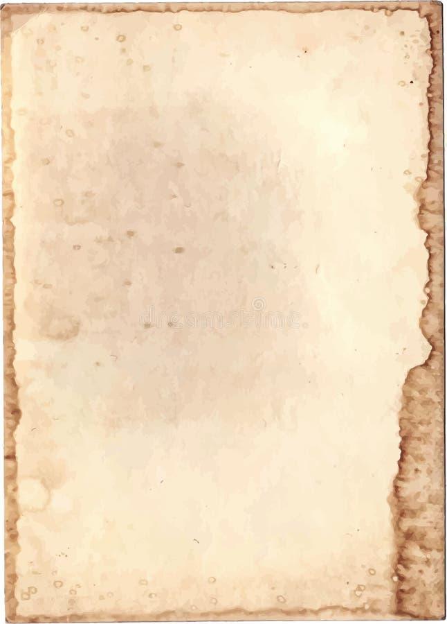 Download Vecchio documento illustrazione vettoriale. Illustrazione di rough - 55350787