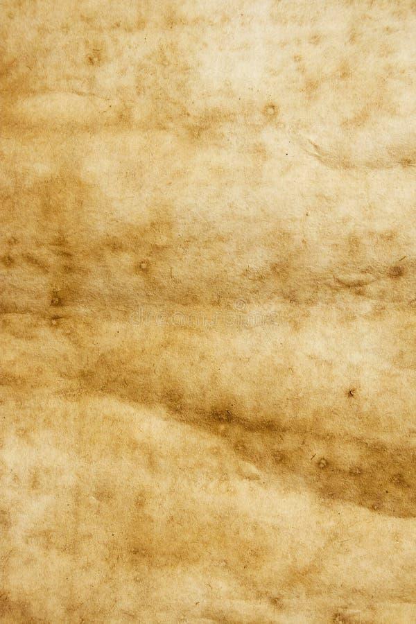 Vecchio documento cinese alto immagini stock libere da diritti