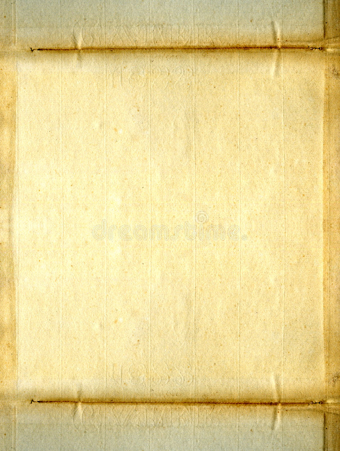 Vecchio documento del grunge immagine stock libera da diritti