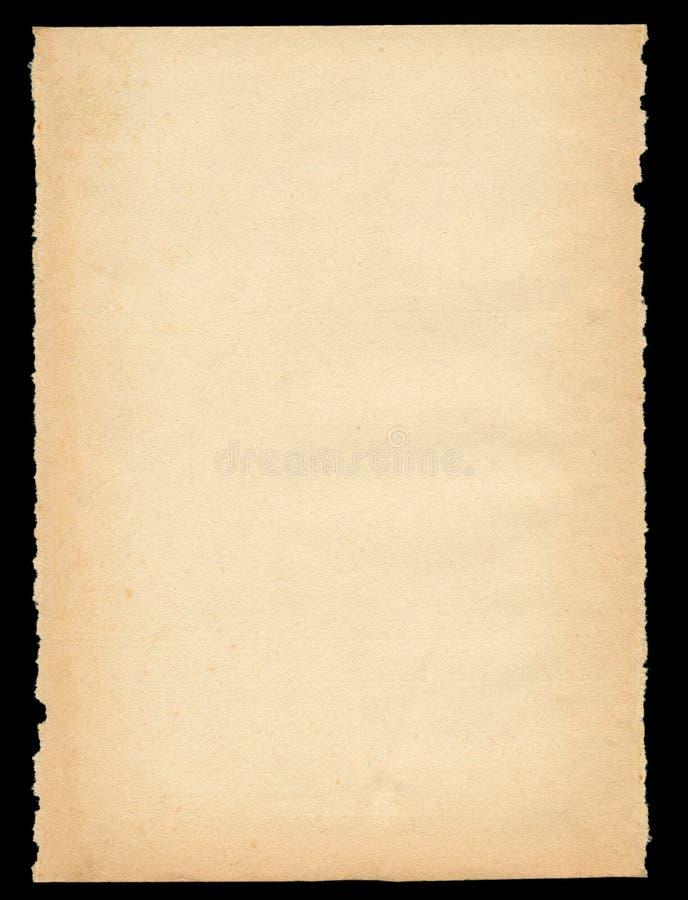 Vecchio documento fuori violento immagine stock libera da diritti