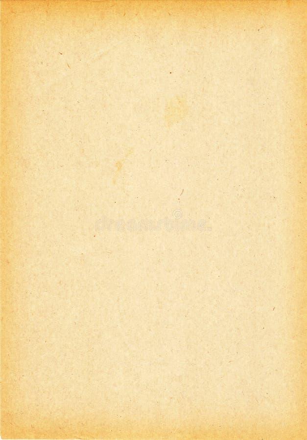Vecchio documento grungy fotografia stock libera da diritti