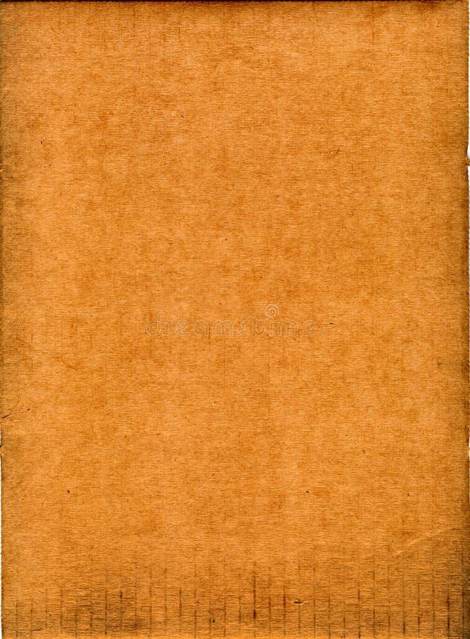 Vecchio documento grungy fotografia stock