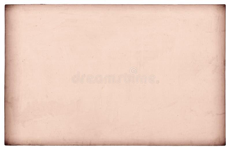 Vecchio documento isolato fotografia stock libera da diritti
