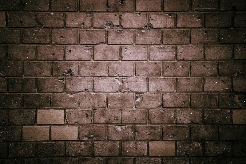 Vecchio e fondo grigio grungy stagionato di struttura del muro di mattoni del blocco in calcestruzzo fotografia stock