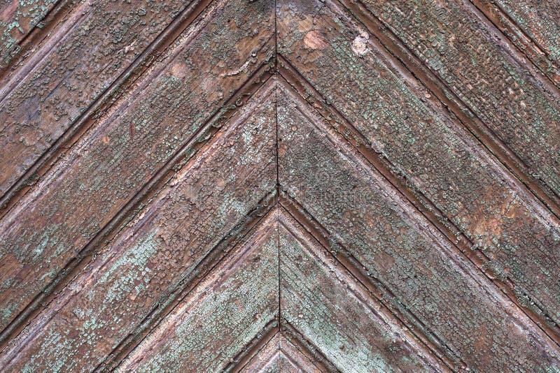 Vecchio e fondo strutturato di legno invecchiato fotografia stock