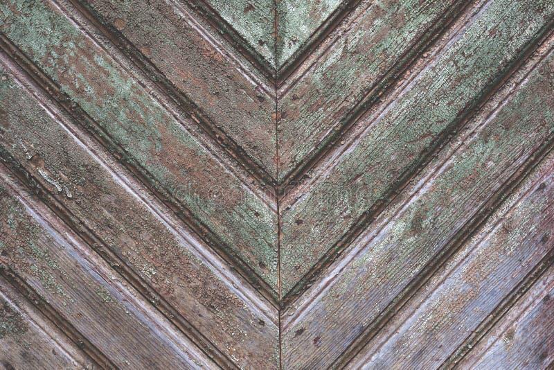 Vecchio e fondo strutturato di legno invecchiato fotografia stock libera da diritti