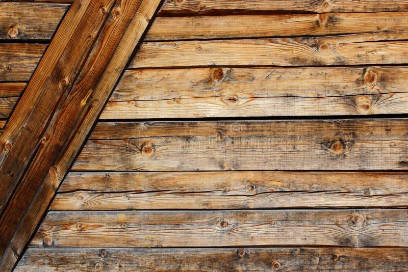 Vecchio esterno della casetta immagine stock