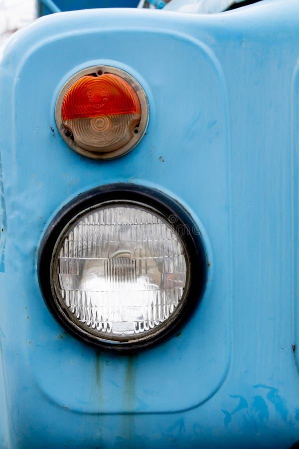 Vecchio faro del camion fotografia stock libera da diritti