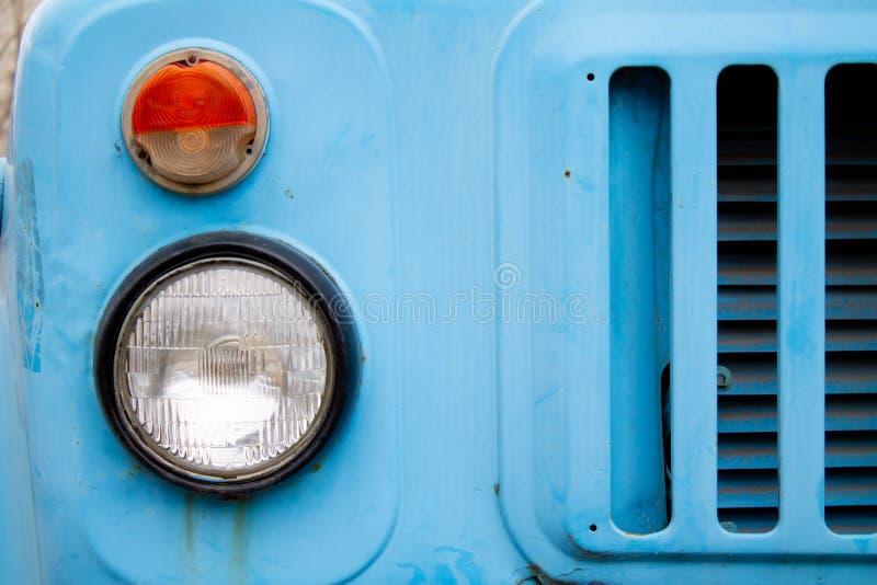 Vecchio faro del camion immagini stock libere da diritti