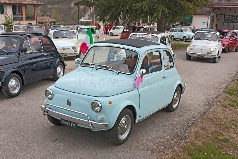 Vecchio Fiat 500 fotografia stock libera da diritti
