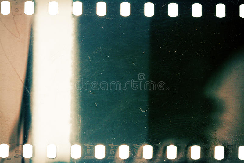 Vecchio filmstrip di lerciume immagine stock libera da diritti