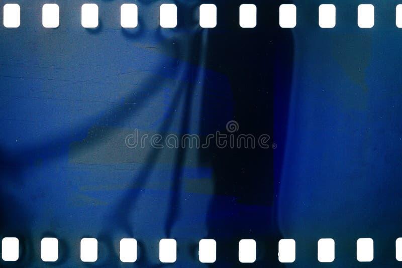 Vecchio filmstrip di lerciume immagini stock
