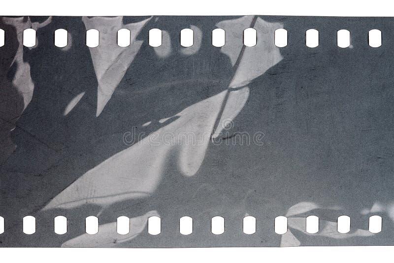 Vecchio filmstrip di lerciume fotografia stock