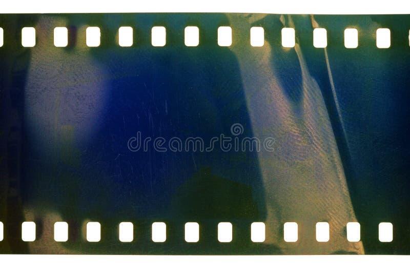 Vecchio filmstrip di lerciume fotografia stock libera da diritti