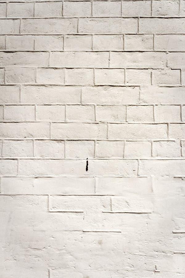 Vecchio fondo bianco di struttura del muro di mattoni fotografia stock