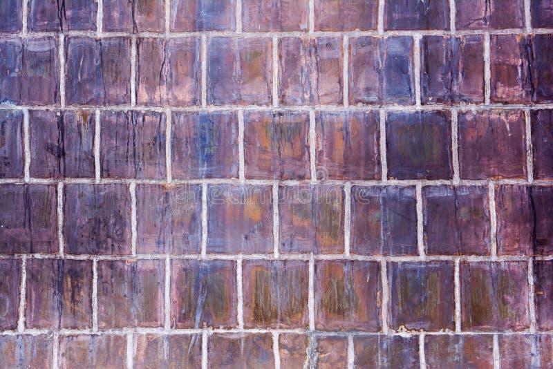 Vecchio fondo del modello della parete delle mattonelle immagine stock libera da diritti