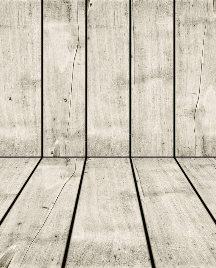 Vecchio fondo di legno bianco della cassa immagine stock