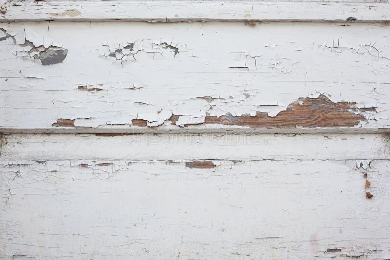 Vecchio fondo di legno bianco di struttura fotografie stock libere da diritti