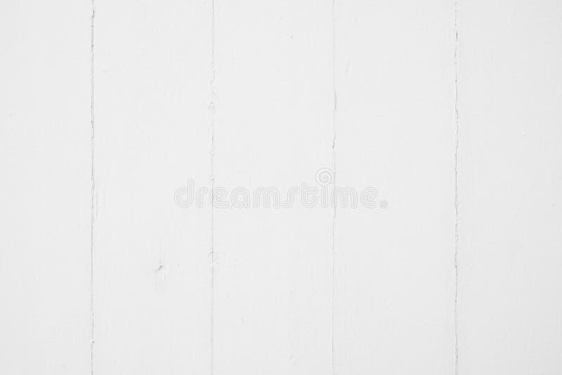 Vecchio fondo di legno bianco di struttura della plancia fotografia stock libera da diritti