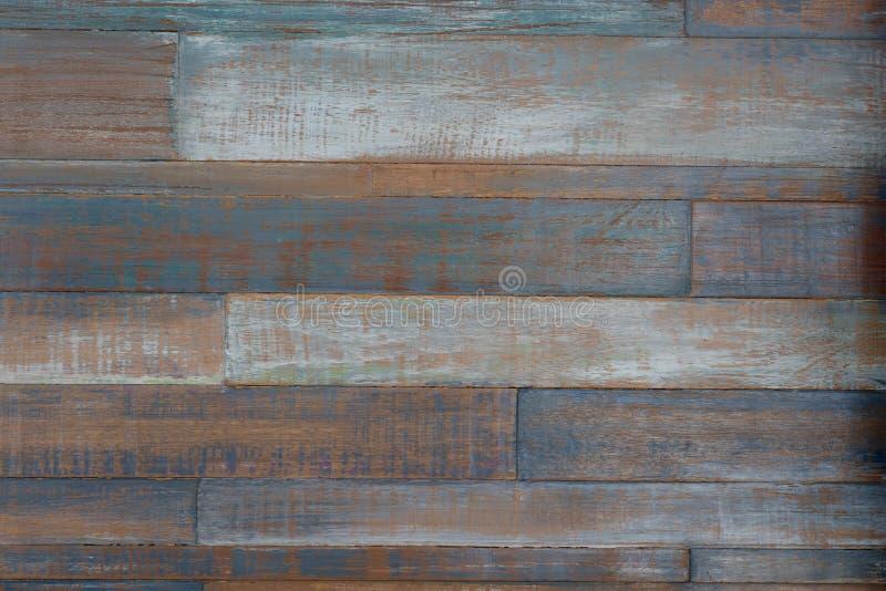 Vecchio fondo di legno colourful fotografia stock