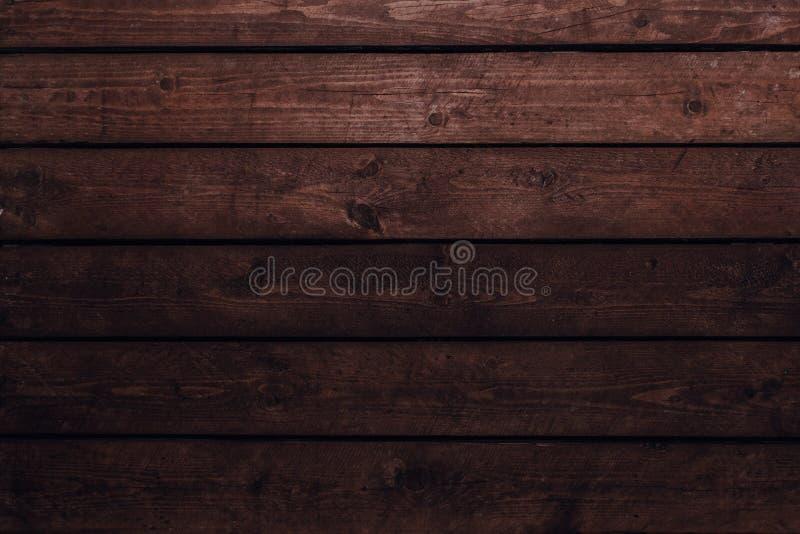 Vecchio fondo di legno dell'annata fotografia stock libera da diritti