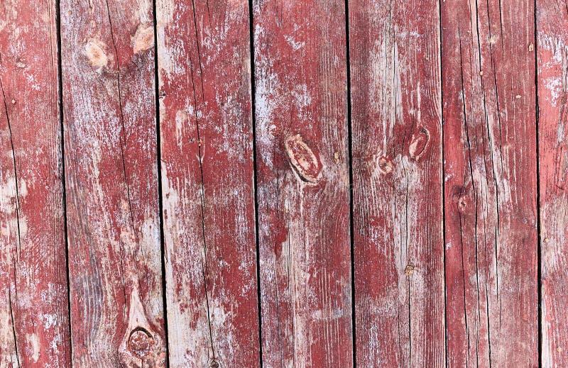 Vecchio fondo di legno dipinto con fotografie stock