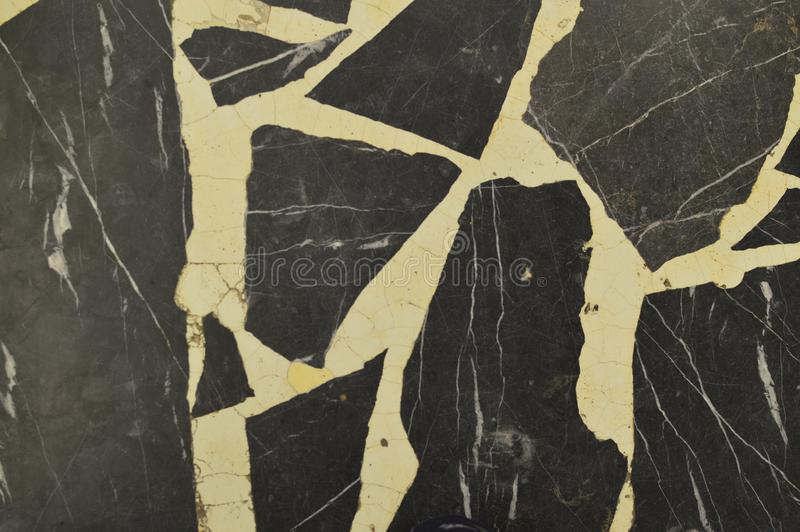 Vecchio fondo di marmo grigio di struttura fotografie stock libere da diritti