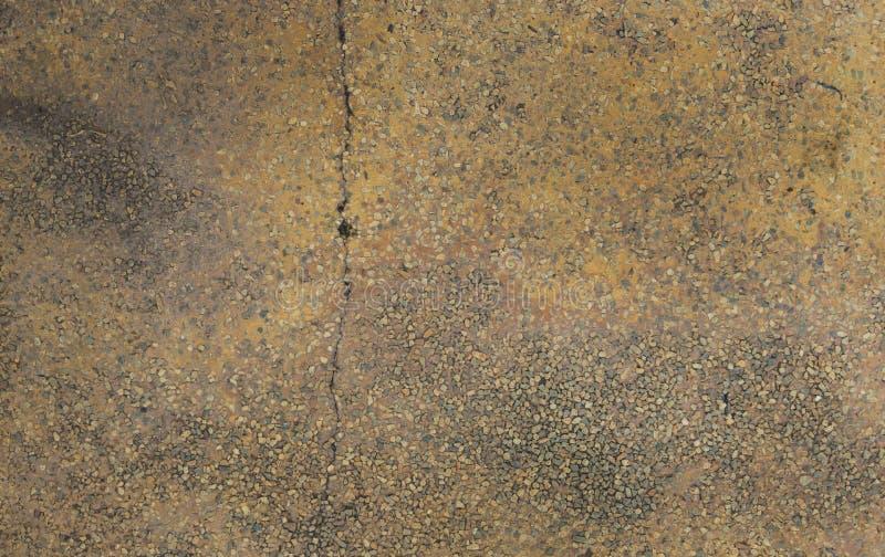 Vecchio fondo di struttura del pavimento di terrazzo immagini stock