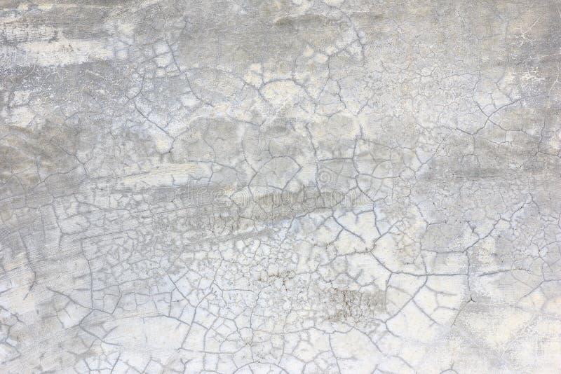 Vecchio fondo di struttura della superficie della crepa della parete del gesso fotografia stock libera da diritti