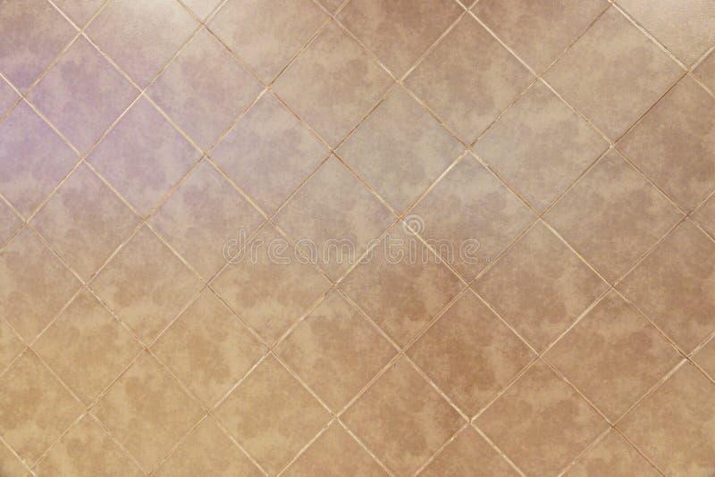 Vecchio fondo marrone di struttura del pavimento non tappezzato immagini stock libere da diritti