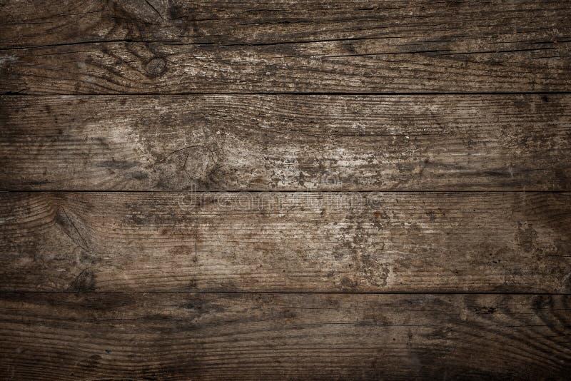 Vecchio fondo o struttura di legno naturale Tavola o pavimento di legno, t immagine stock libera da diritti