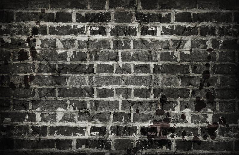 Vecchio fondo sporco del muro di mattoni immagini stock