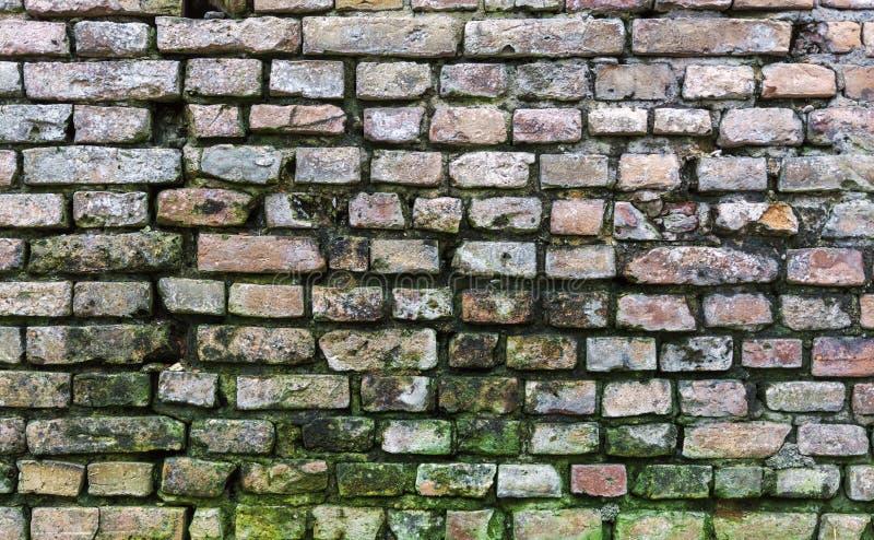 Vecchio fondo sporco del muro di mattoni fotografie stock libere da diritti